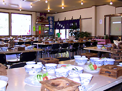 1階食堂(テーブル)